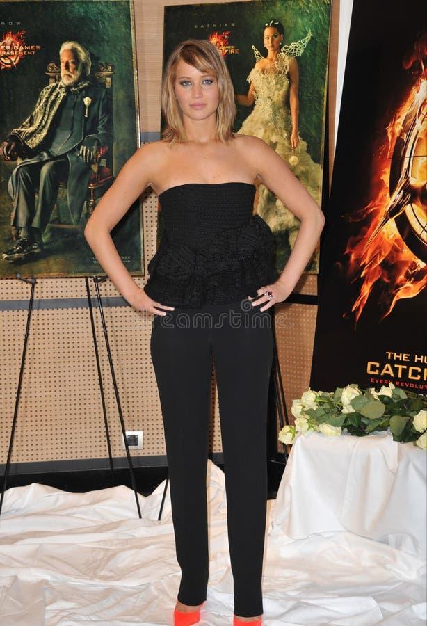 Jennifer Lawrence lizenzfreies stockfoto