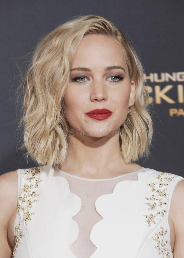 Jennifer Lawrence stock fotografie
