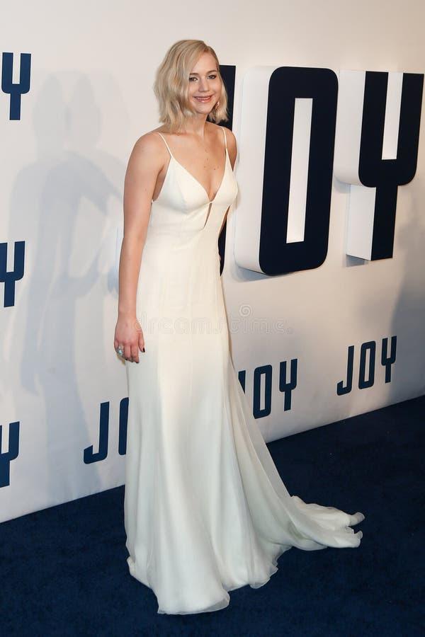 Jennifer Lawrence foto de stock