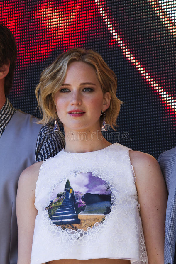 Jennifer Lawrence stock images