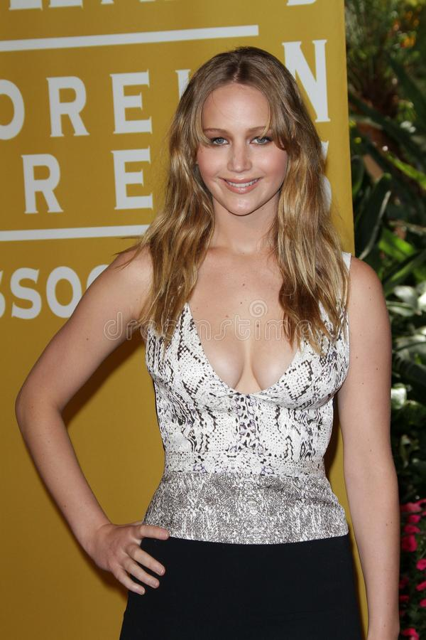 Jennifer Lawrence. At the Hollywood Foreign Press Association 2012 Installation Luncheon, Beverly Hills Hotel, Beverly Hills, CA 08-09-12 royalty free stock photos