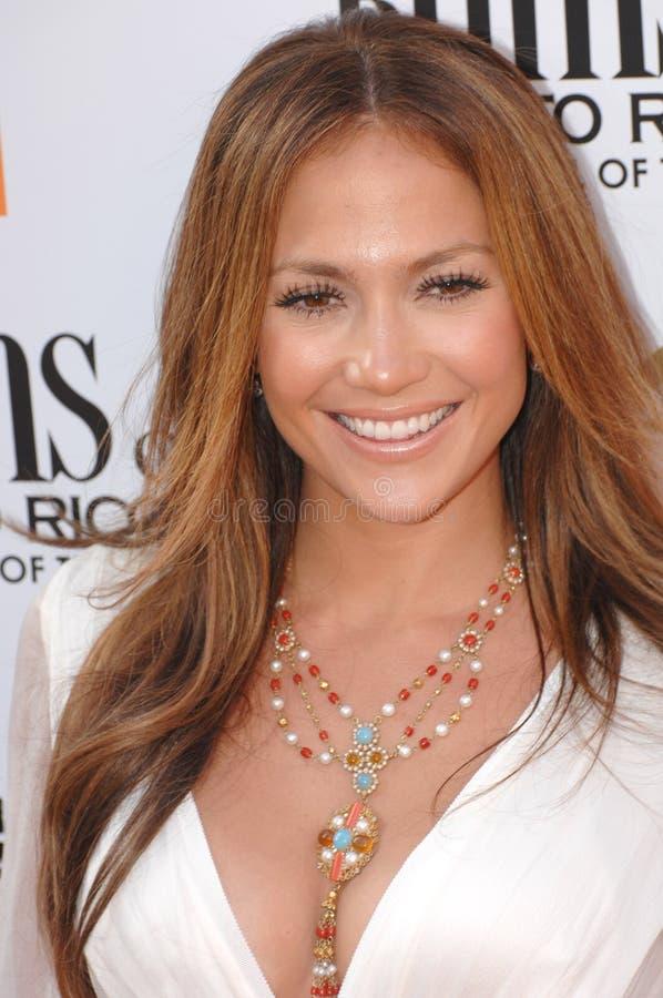Jennifer Lopez fotografie stock