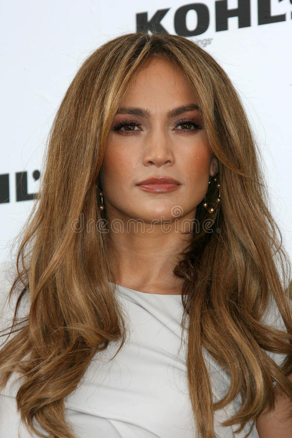 Jennifer Lopez. At a  and Marc Anthony: Kohl's Press Conference, London, West Hollywood, CA. 11-17-10 royalty free stock photos