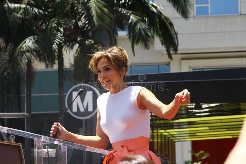 Jennifer Lopez imagen de archivo libre de regalías