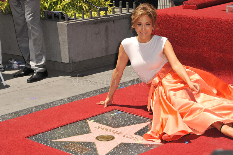 Jennifer Lopez fotografía de archivo