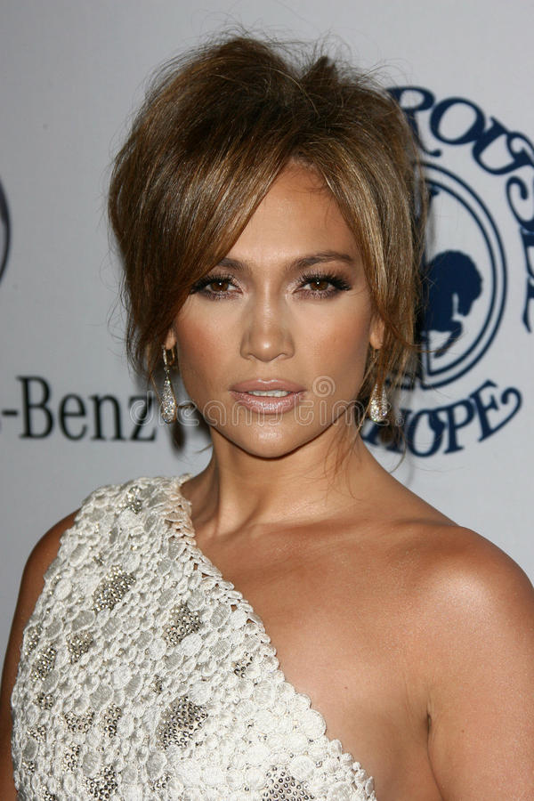 Jennifer Lopez, obraz royalty free