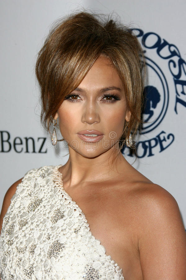 Jennifer Lopez foto de stock royalty free