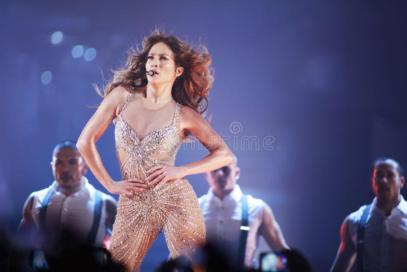Jennifer Lopez lizenzfreie stockfotografie