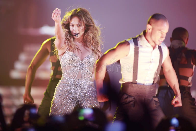 Jennifer Lopez photo stock
