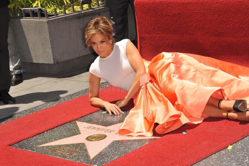 Jennifer Lopez royalty-vrije stock foto's