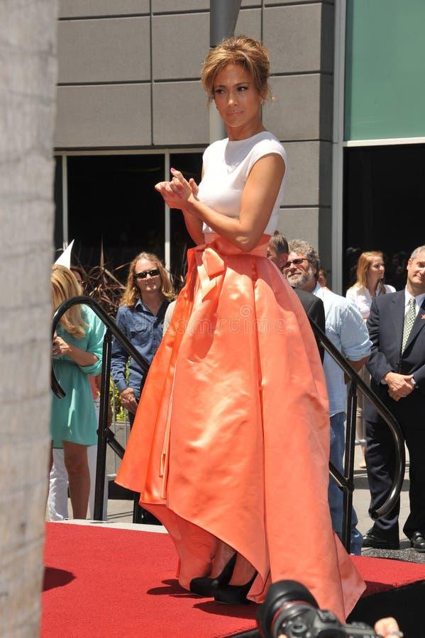 Jennifer Lopez royalty free stock photos