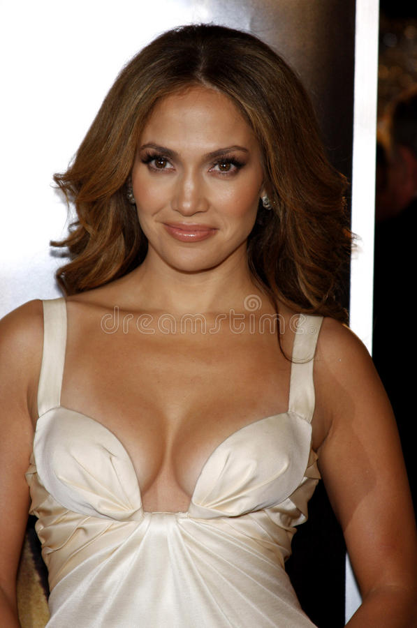 Jennifer Lopez. At the Los Angeles premiere of 'The Curious Case Of Benjamin Button' held at the Mann's Village Theater in Westwood on December 8, 2008 stock image