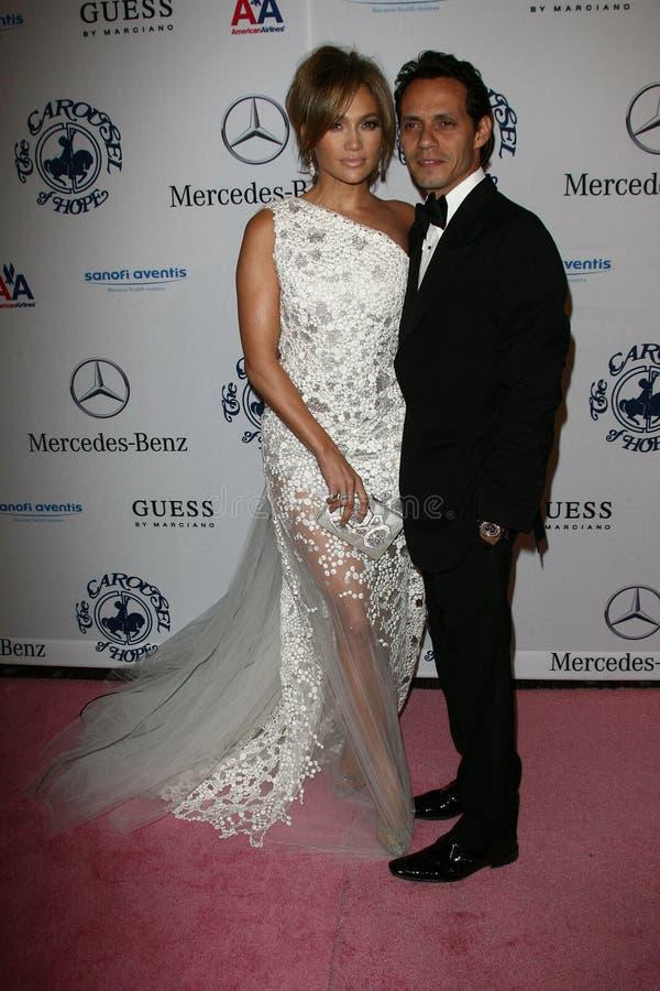 Jennifer Lopez, Marc Anthony imagen de archivo