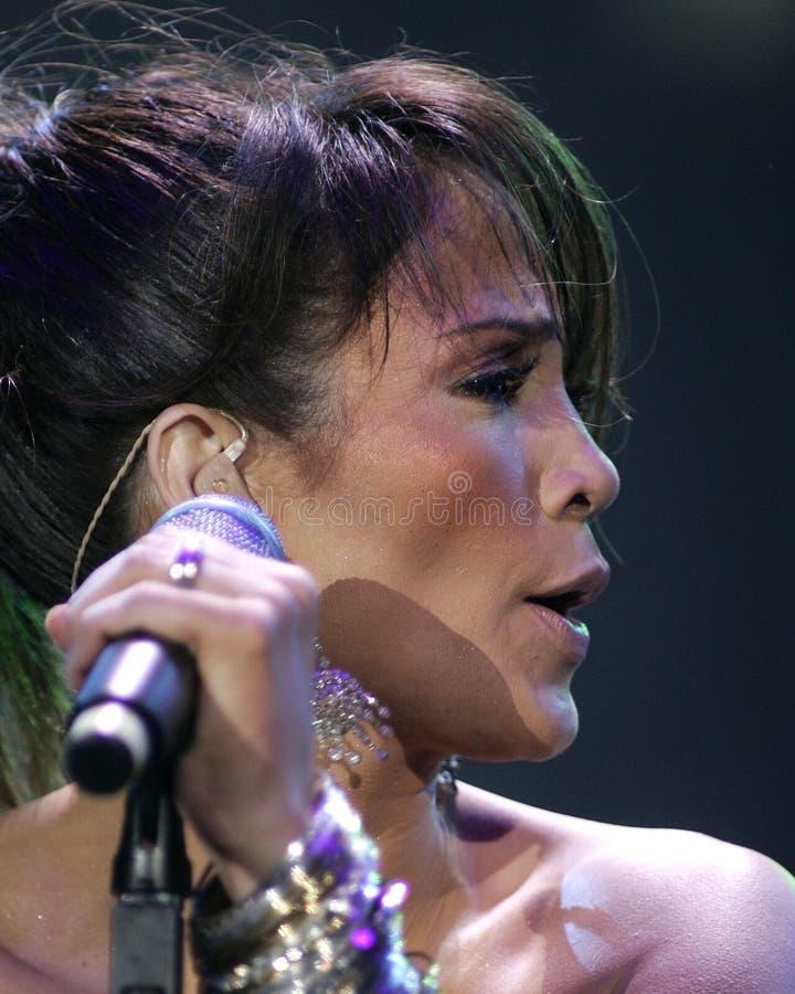 Jennifer Lopez se realiza en concierto imágenes de archivo libres de regalías