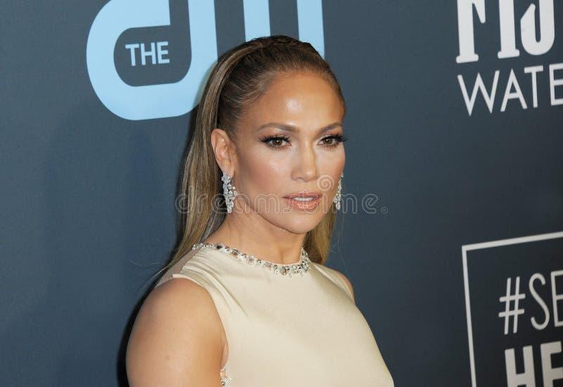Jennifer Lopez stock photography
