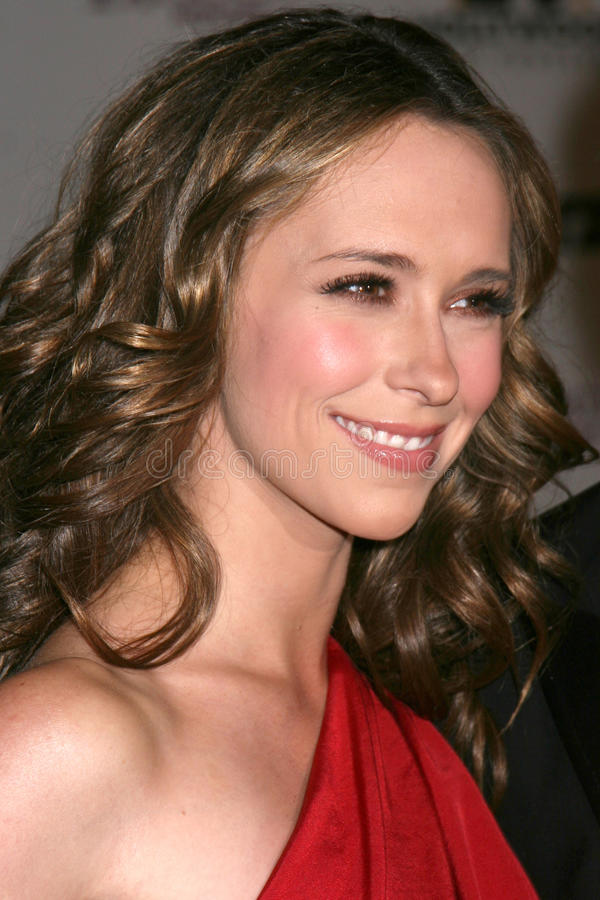 Jennifer Love Hewitt. Arriving to the Hollywood Film Festival Awards Gala at the Beverly Hilton Hotel in Beverly Hills, CA on October 27, 2008 stock photography