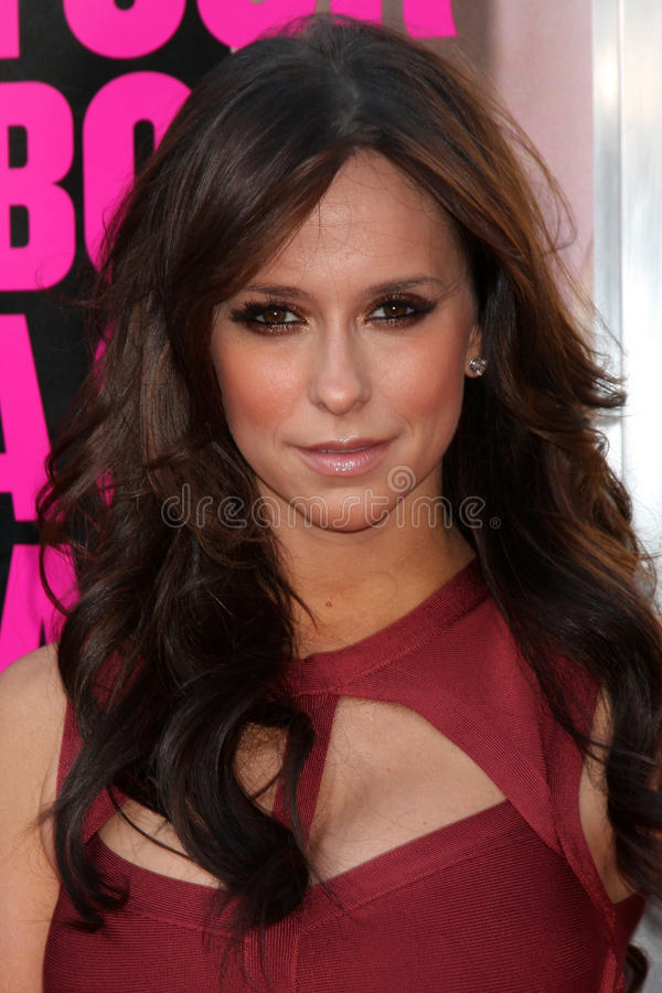 Jennifer Love Hewitt. LOS ANGELES - JUN 30: Jennifer Love Hewitt arriving at the Horrible Bosses Premiere at Graumans Chinese Theater on June 30, 2011 in Los royalty free stock images
