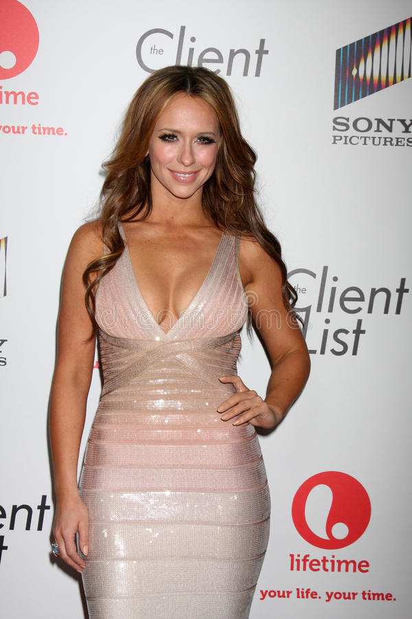 Jennifer Love-Hewitt stock photos