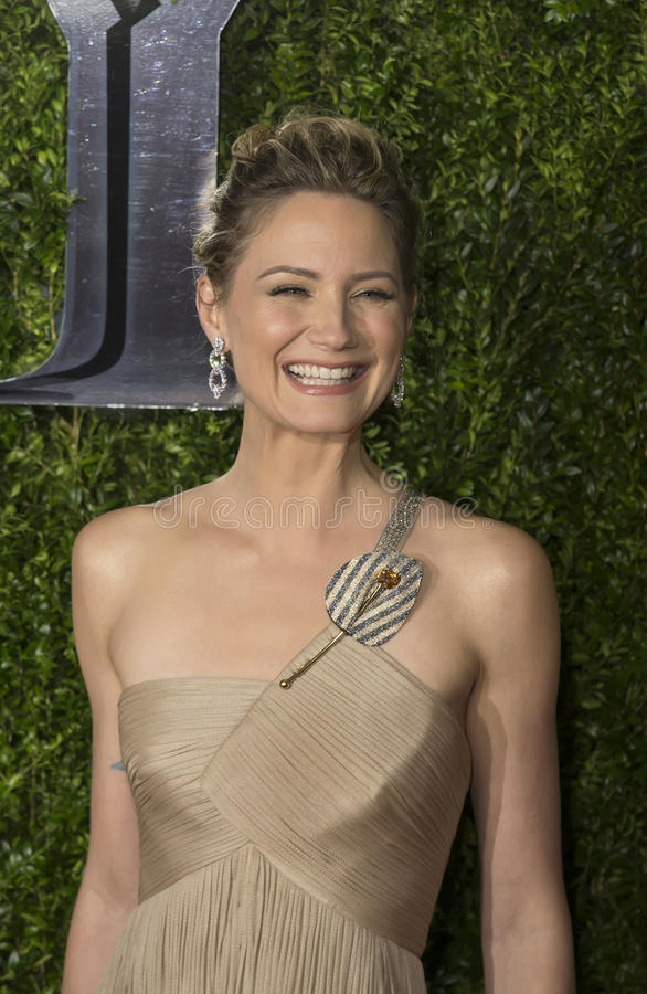 Jennifer Nettles Arrives at 2015 Tony Awards. Jennifer Nettles, one of country music's leading ladies, as lead singer of Sugarland, looks resplendent in a beige stock photography