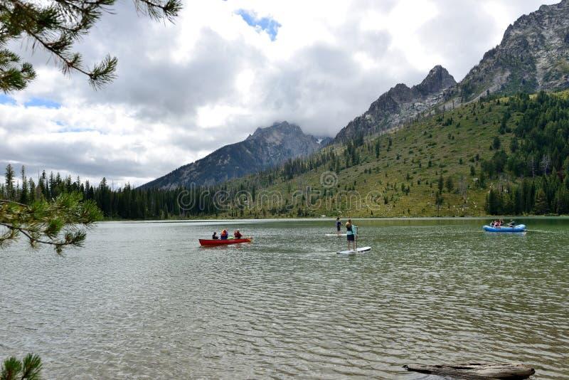 Jenny Lake photo stock