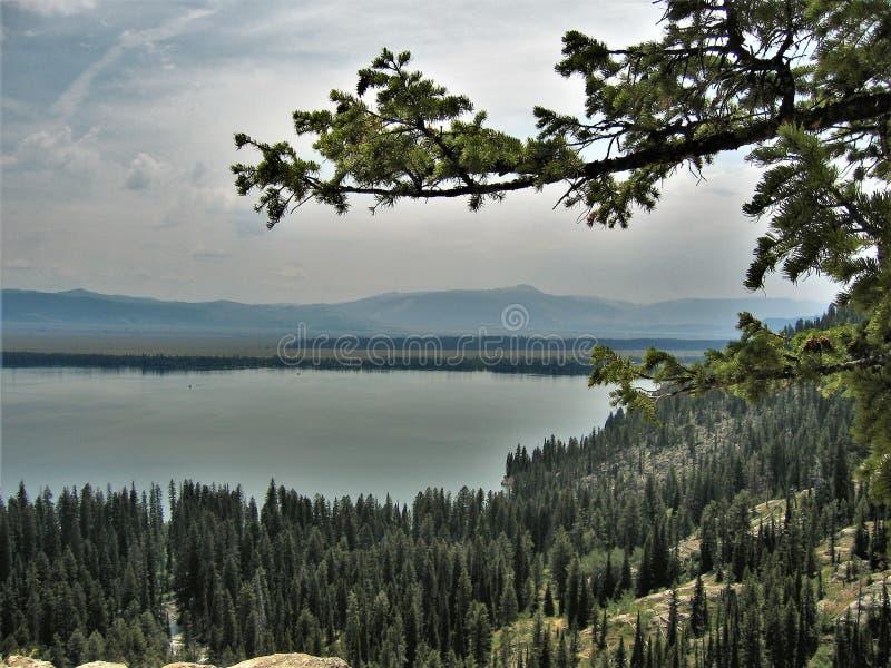 Jenny Lake stock photography
