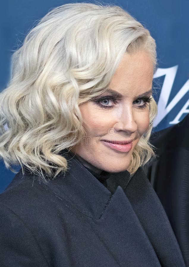 Jenny McCarthy at Variety 3rd Annual Salute to Service Event royalty free stock image