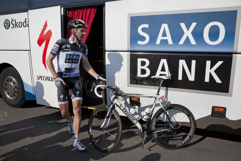 Download Jens Voigt Team Saxobank editorial image. Image of concentrated - 15513295