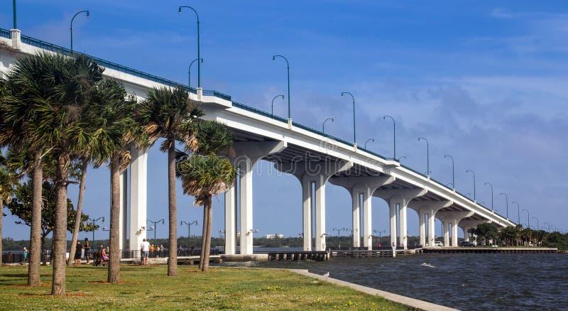 Jensen Beach Bridge immagine stock libera da diritti