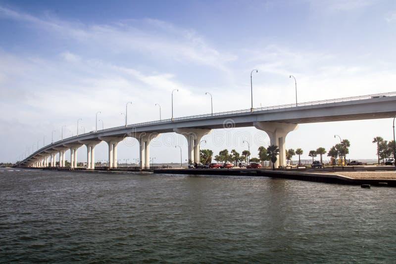 Jensen Beach Bridge Florida stock images