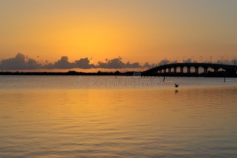 Jensen Beach Sunrise stockfoto