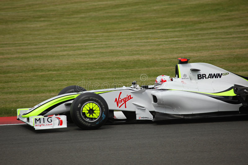 Jenson Button at the British Grand Prix