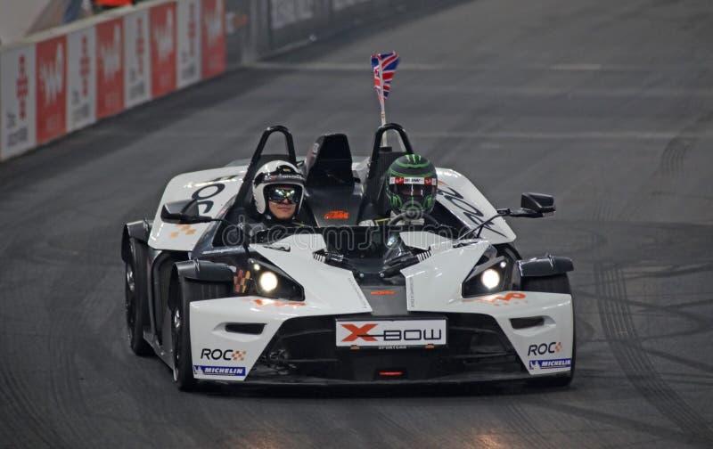 Jenson Button (gigaoctet) au ROC 2009 photographie stock