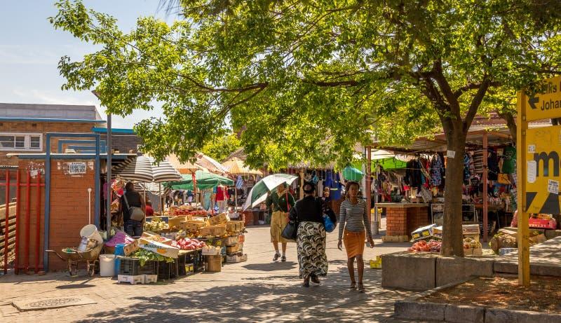 Jeppestown histórico nos arredores de Maboneng em Joanesburgo imagem de stock royalty free