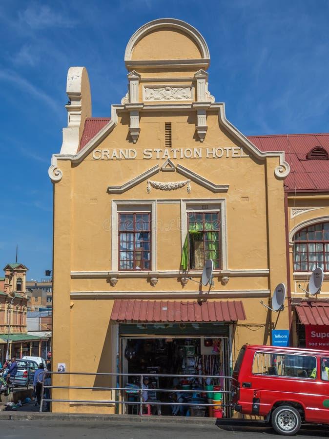Jeppestown histórico nos arredores de Maboneng em Joanesburgo foto de stock