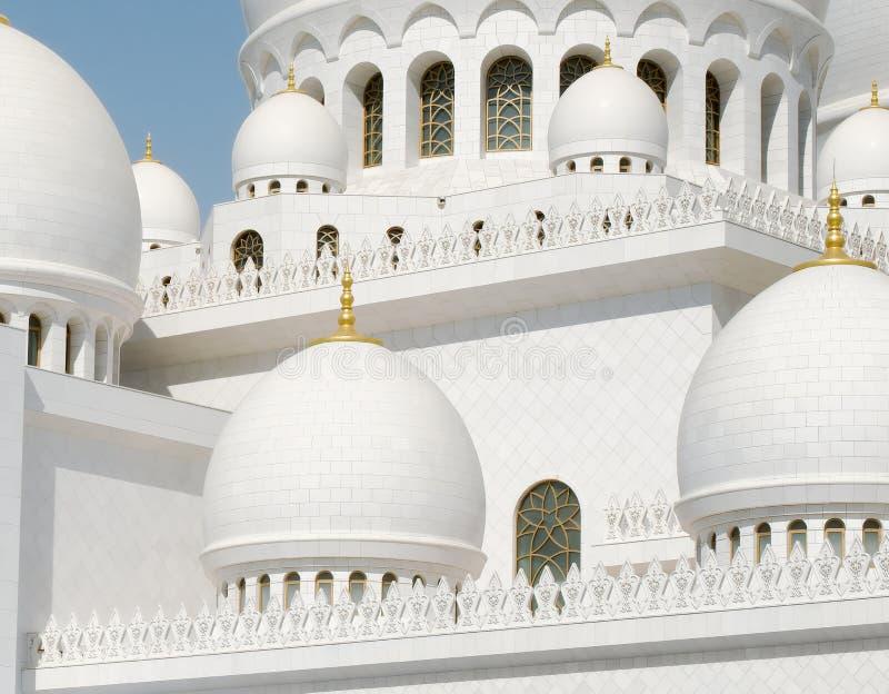 Jeque Zayed Grand Mosque, Abu Dhabi foto de archivo
