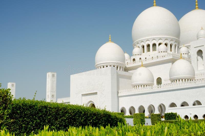 Jeque Zayed Grand Mosque, Abu Dhabi fotos de archivo