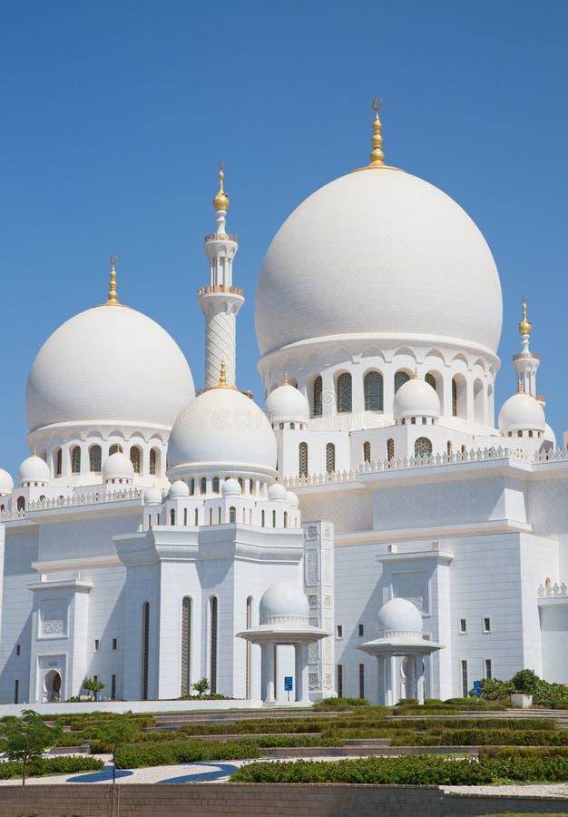 Jeque Zayed Mosque imágenes de archivo libres de regalías
