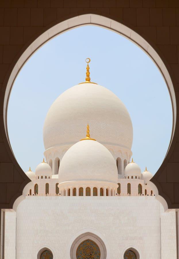 Jeque Zayed Mosque foto de archivo