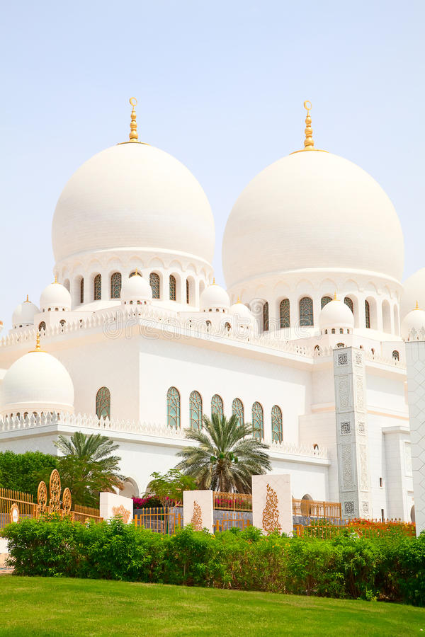 Jeque Zayed Mosque fotos de archivo libres de regalías