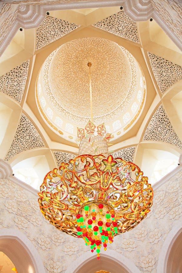 Jeque Zayed Mosque imagen de archivo