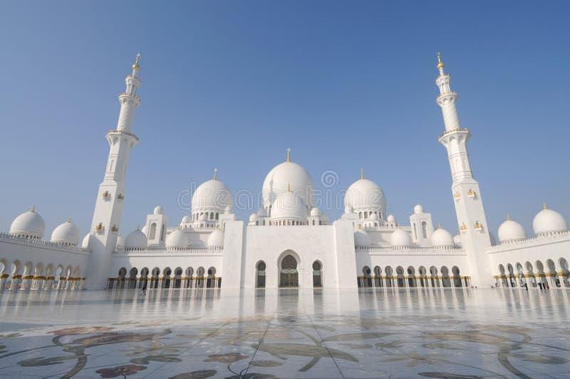 Jeque Zayed Mosque, Abu Dhabi imágenes de archivo libres de regalías