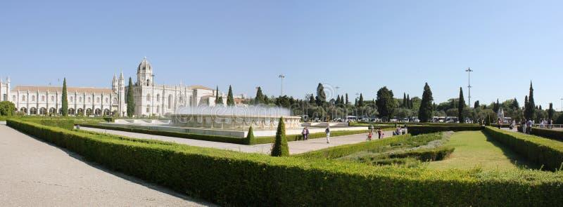 Jerónimos stock afbeelding