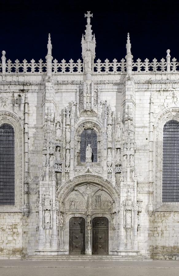 Jerónimos Monastery, Lisbon,Portugal. The Jerónimos Monastery or Hieronymites Monastery Mosteiro dos Jerónimos, is a former monastery of the Order of stock image