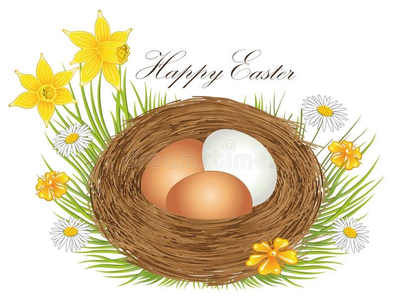 Jerarquía con los huevos de Pascua libre illustration
