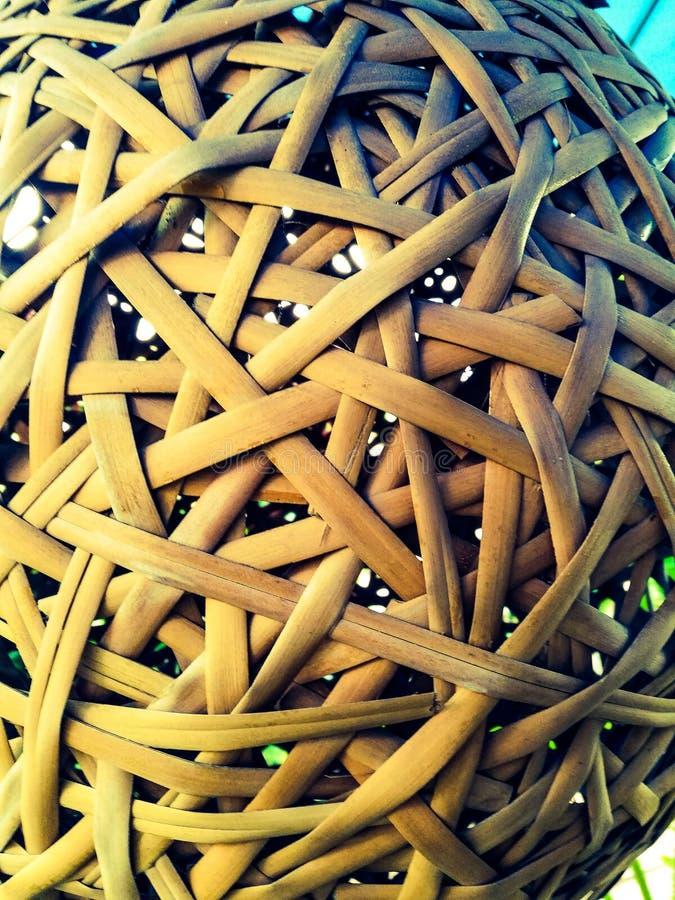 Jerarquía de bambú para el resto fotos de archivo