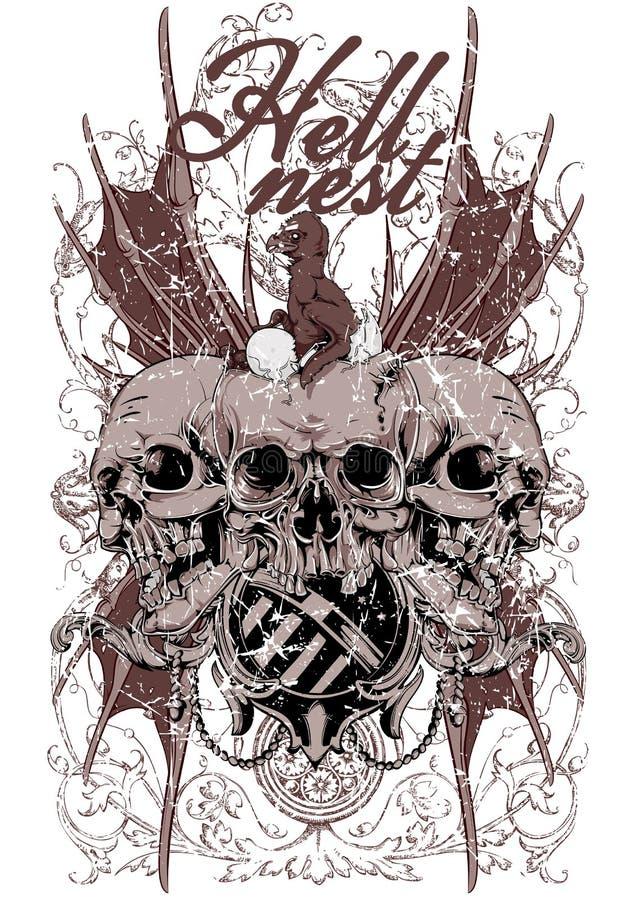 Jerarquía del infierno libre illustration