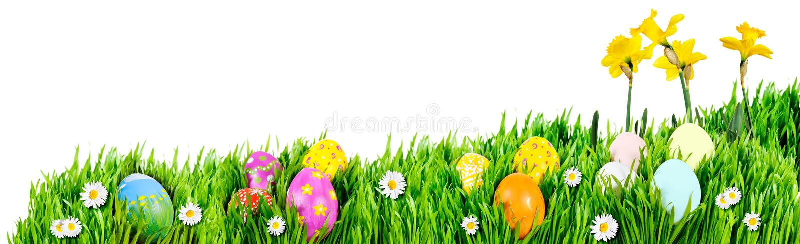 Jerarquías del huevo de Pascua foto de archivo