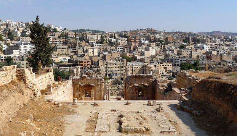 Jerash fotografie stock