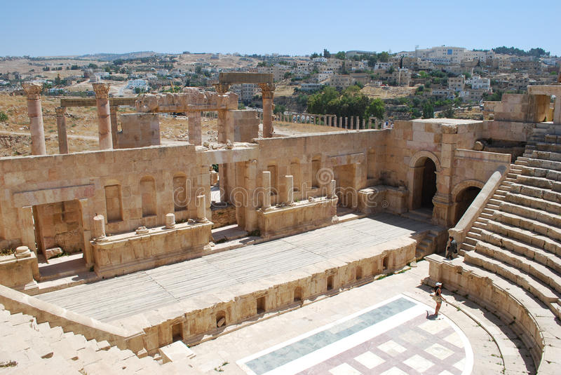 Jerash royalty free stock photos