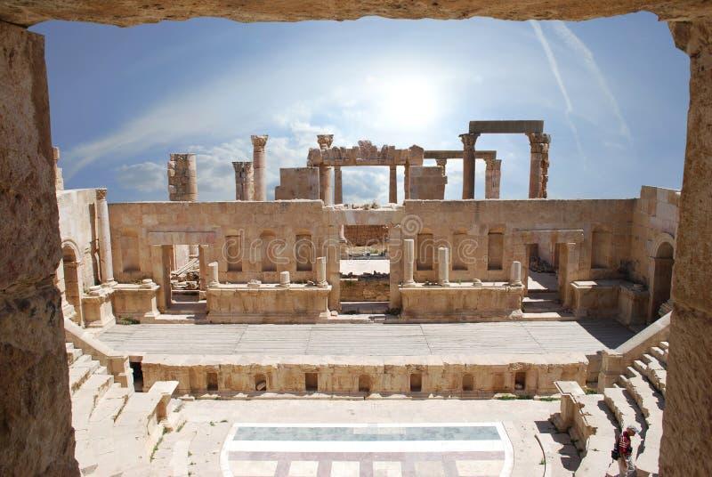 Jerash stock image